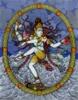 drawing are dancing Shiva